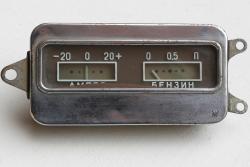 Anzeige Amper/Benzin Moskwitsch 403, 407. Gebraucht.