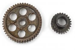 Steuerräder Satz Ural, K750, M72 original Depotware.