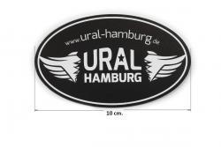 Aufkleber Ural-Hamburg.