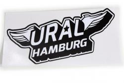 Aufkleber Ural-Hamburg. Flügel.
