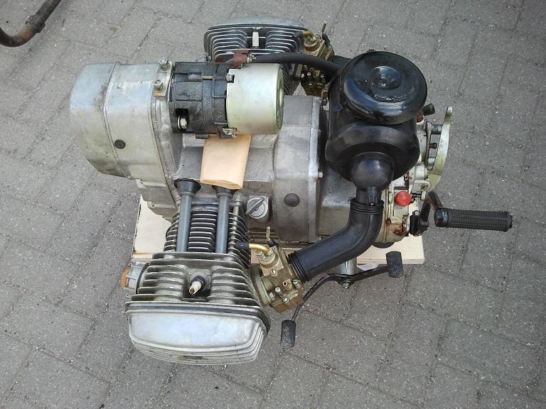 Ural Hamburg Motor Dnepr 650ccm Komplett